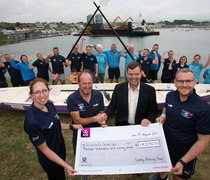 Vartry Rowing Club raises €14,000 for Cancer Care