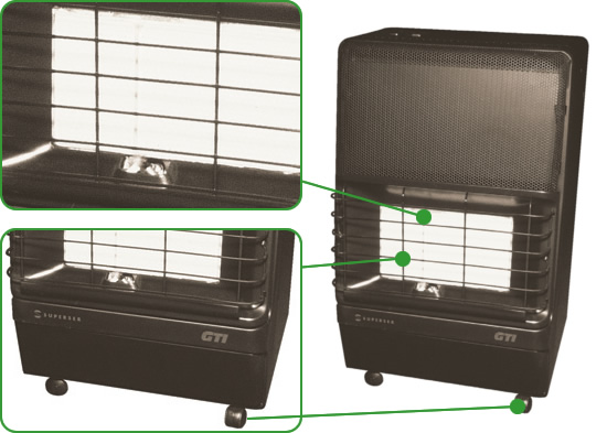 Cabinet Heater Safety Diagram