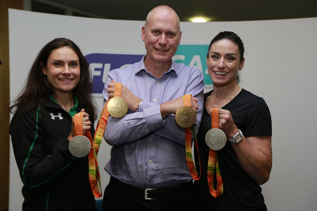 Flogas gives a warm welcome to Paralympian gold medallists