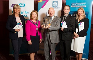 Flogas Natural Gas are Gold sponsors of the Greater Newry Area Business Awards