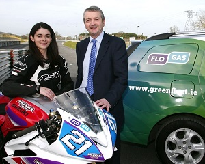 Nicole Lynch 'wheels in' as Flogas Brand Ambassador