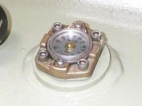 Tank contents gauge